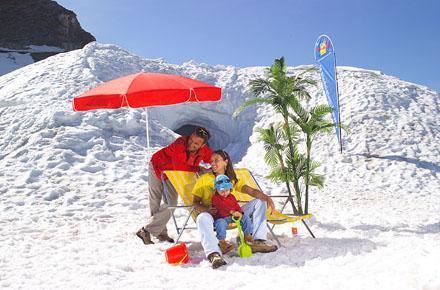 MOUNT KITZSTEINHORN - SNOW IN SUMMER