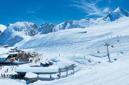 KITZSTEINHORN – SKIING - SNOW BOARDING - FREESKI