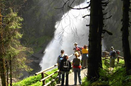 KRIMML WATERFALLS - EUROPE's HIGHEST WATERFALLS