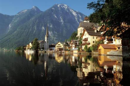HALLSTATT, SALZKAMMERGUT and WORLD FAMOUS MOVIE LOCATIONS
