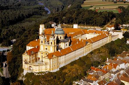 MAUTHAUSEN MEMORIAL, MELK ABBEY  and WACHAU