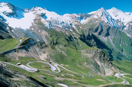 GROSSGLOCKNER - HIGHEST MOUNTAIN IN AUSTRIA